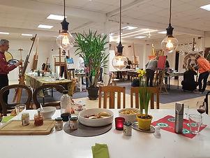 Loft Atelier in Holzkirchen bei München.