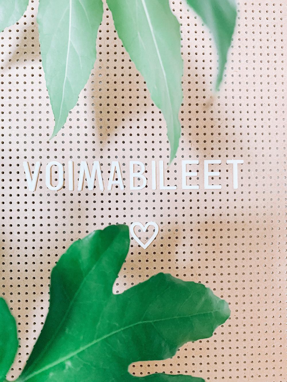 Ensimmäiset VOIMABILEET järjestettiin 5.4.2020