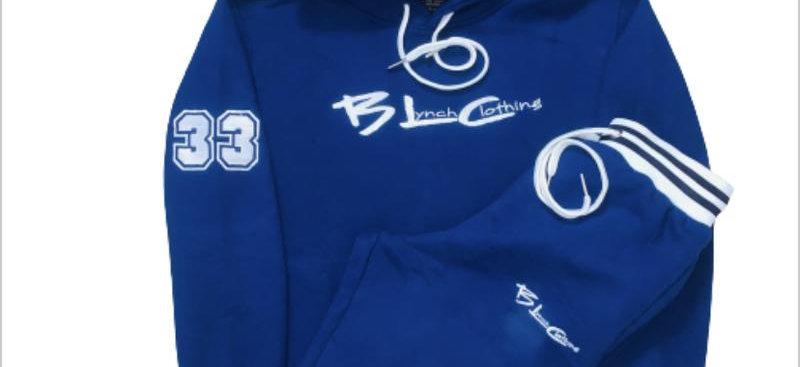 BLC Brand Logo Navy & White Sweatsuit
