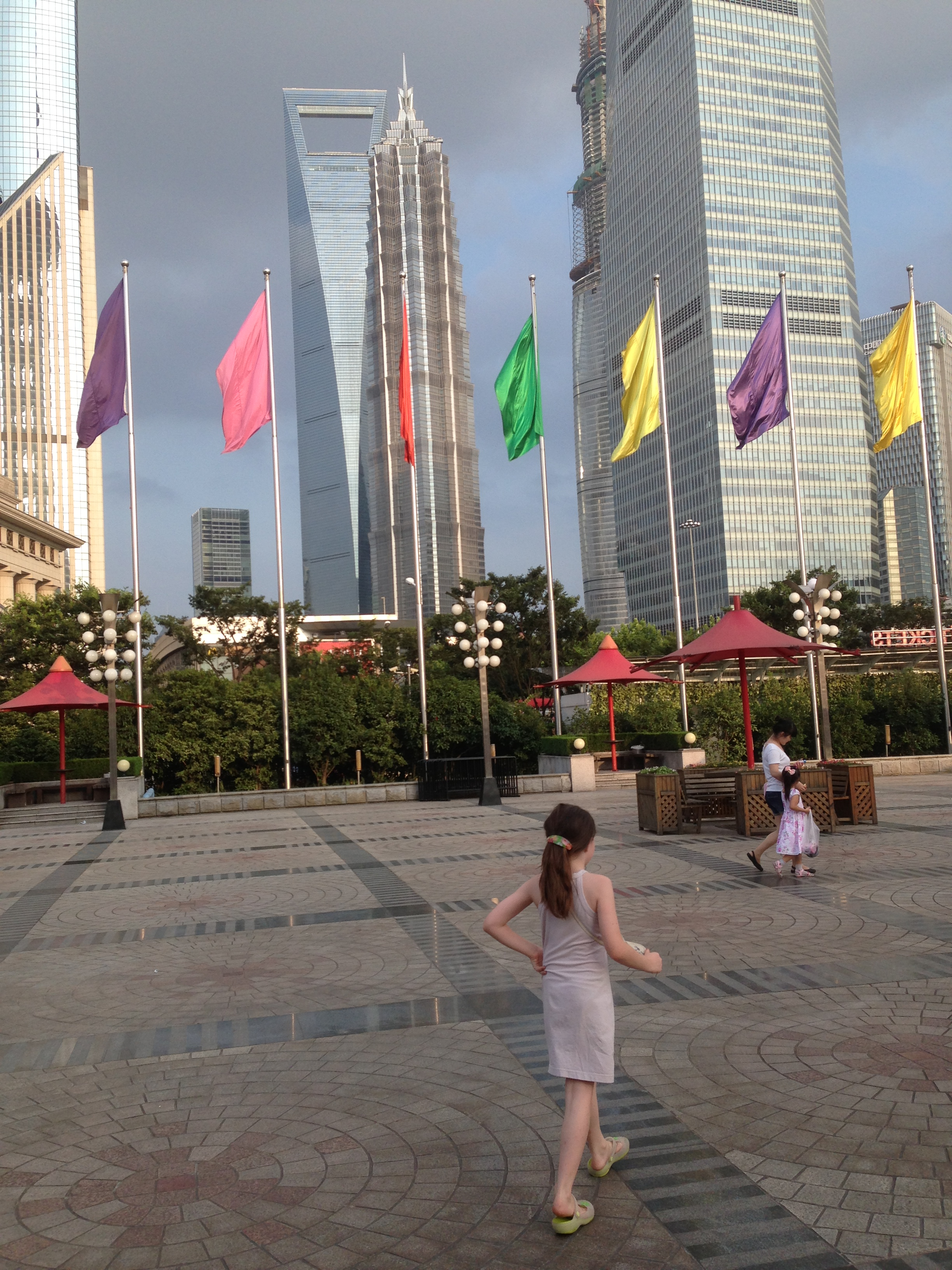 At Pearl Tower Square, Shanghai
