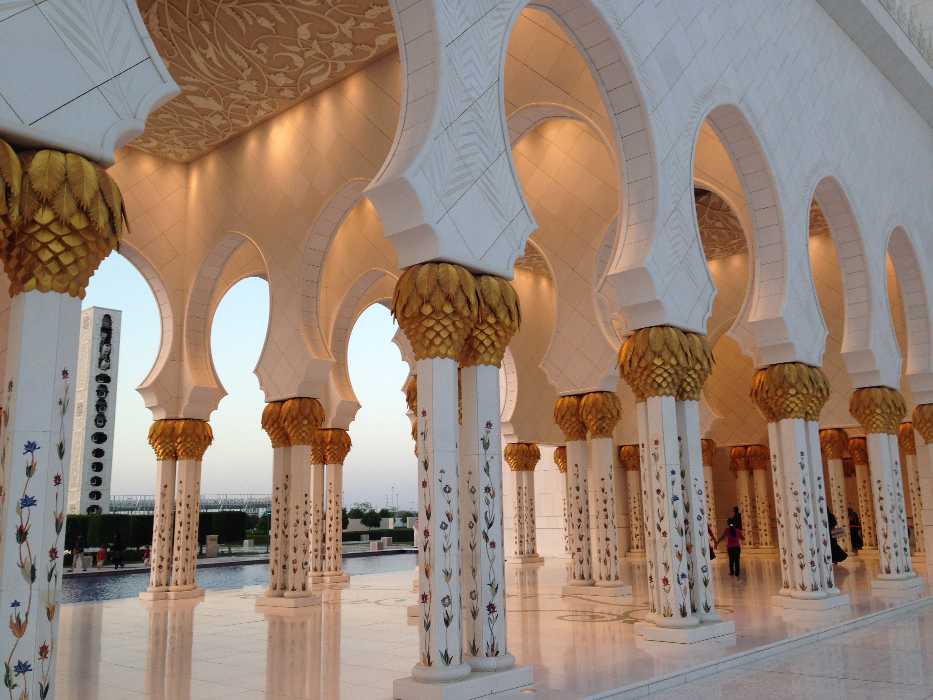 Inside Sheikh Zayed Mosque-Abu Dhabi