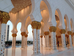 Inside Sheikh Zayed Mosque-Abu Dhabi