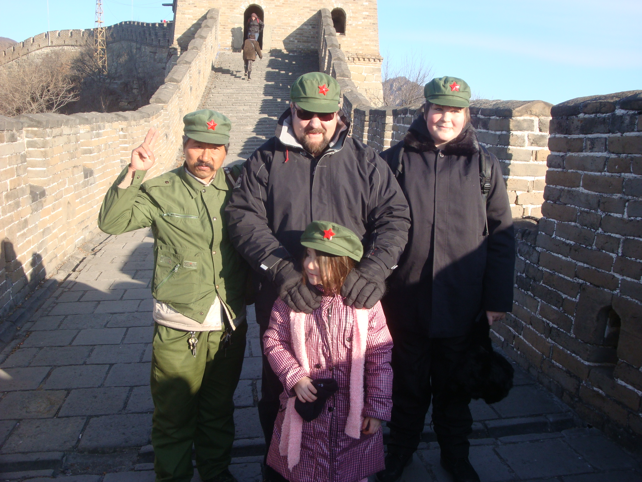 On the Great Wall of China, Mutianyu