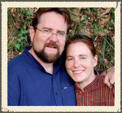Chris and Karen in India