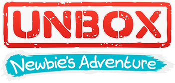 Unbox: Newbie's Adventure logo