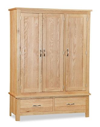 Oak 87 - Triple Wardrobe