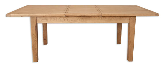 Country Oak - 1.6M Extending Dining Table