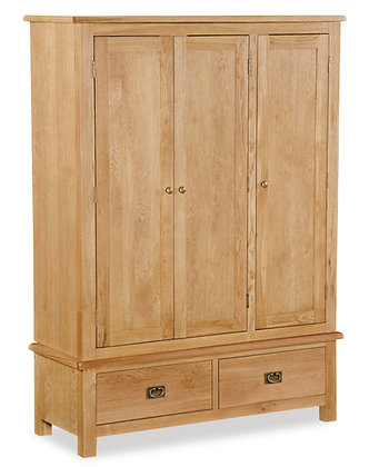 Oak 27L - Triple Wardrobe
