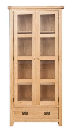 Natural Oak - Display Cabinet