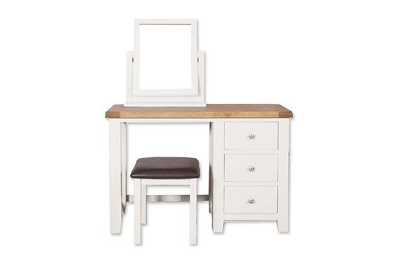 Arctic White & Oak - Dressing Table
