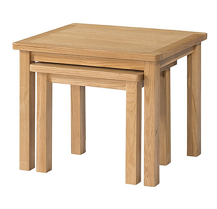 Oak 9 - Nest Of Tables