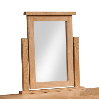 Oak 4 - Dressing Table Mirror