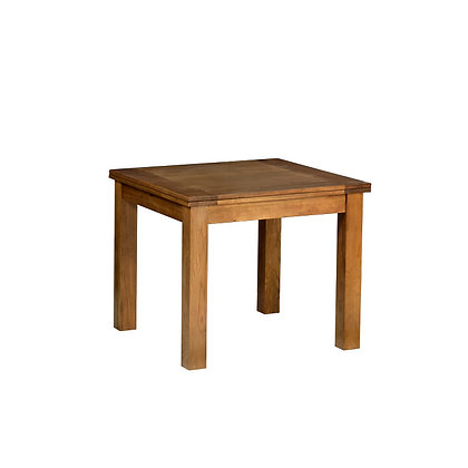 Oak 2 - 3' X 3' Flip Top Extendable Table - SPECIAL