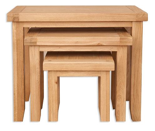 Natural Oak - Nest Of Tables