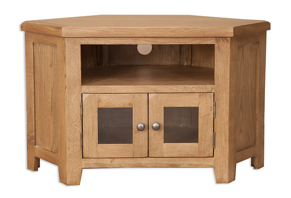 Country Oak - Glazed Tv Cabinet