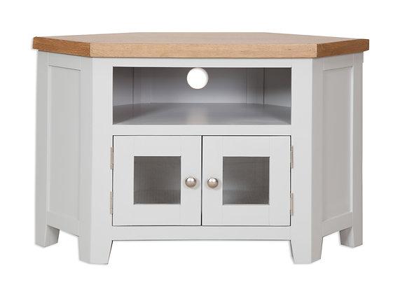 Grey & Oak - Glazed Tv Cabinet