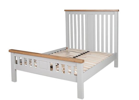 Grey & Oak - King Size Bed