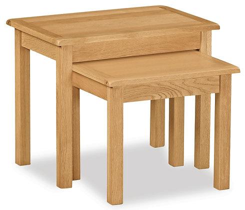 Oak 27L - Nest Of Table