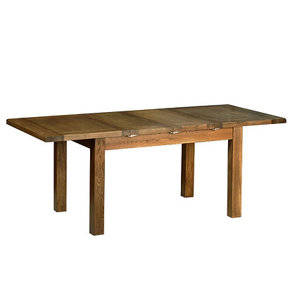 "Oak 2 - 4'4"" Extendable Table (2 Leaf) - SPECIAL"