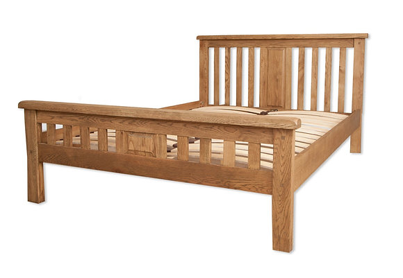 Country Oak - Double Bed