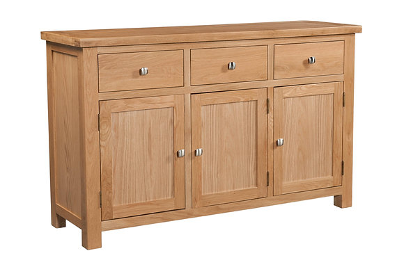 Oak 4 - 3 Door Sideboard