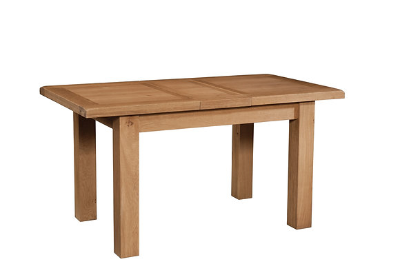 Oak 3 - Dining Table With 1 Extension 120-153 X 80