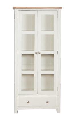 Ivory & Oak - Display Cabinet
