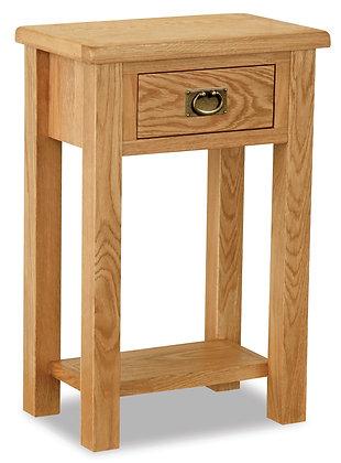 Oak 27L - Telephone Table