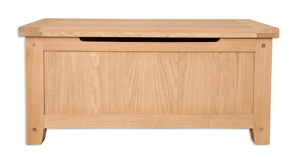 Natural Oak - Blanket Box