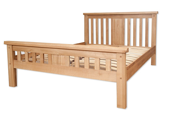 Natural Oak - King Size Bed
