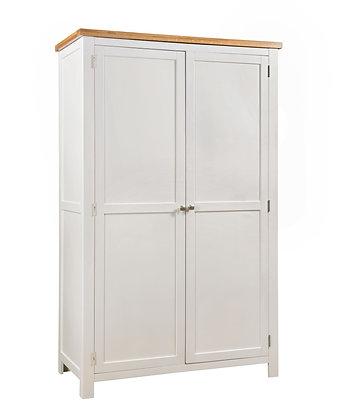 Oak 4 Ivory - Ladies Double Wardrobe