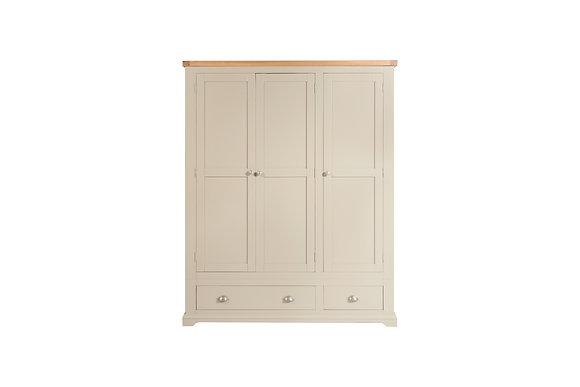 Truffle & Oak - 3 Door 2 Drawer Wardrobe