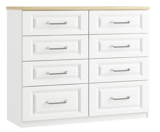 Sorrento - 8 Drawer Twin Chest