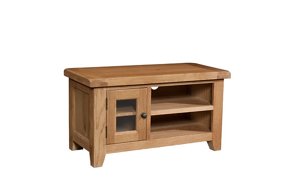 Oak 3 - Small Tv Unit