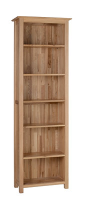 Oak 1 - 6' Narrow Bookcase
