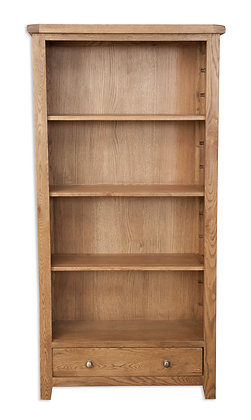 Country Oak - Large Bookcase