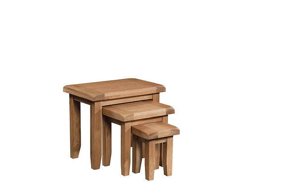 Oak 3 - Nest Of Tables