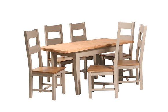 Truffle & Oak - 1.2M Extending Dining Table