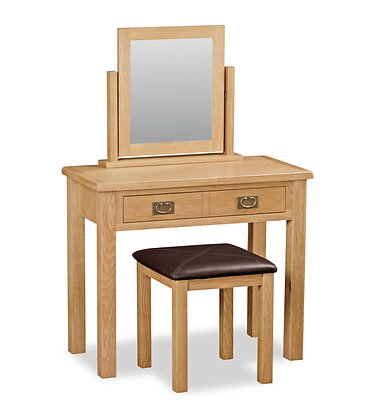 Oak 27L - Dressing Table Set