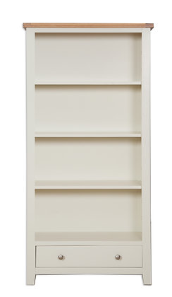 Ivory & Oak - Large Bookcase