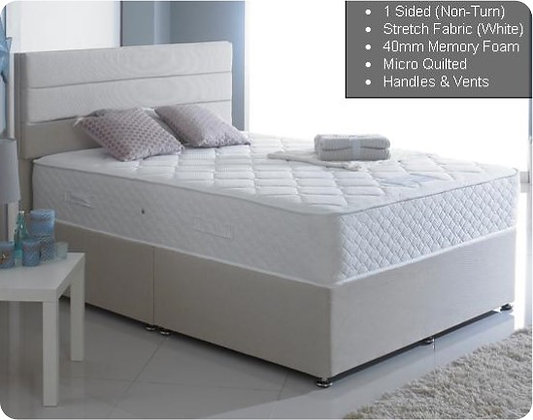 Rembrandt 1000+40mm Memory 4' Mattress