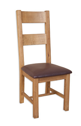 Country Oak - Ladder Dining Chair