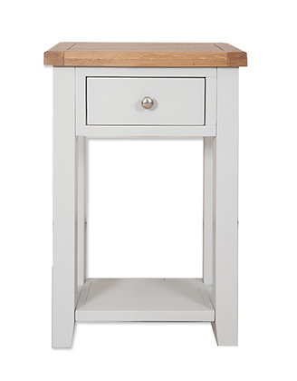 Grey & Oak - 1 Drawer Console Table