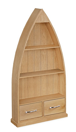 Oak 87 - Boat Bookcase