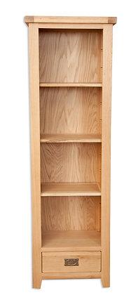 Natural Oak - Slim Bookcase