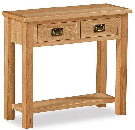 Oak 27L - Console Table