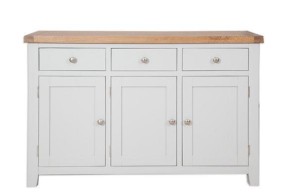 Grey & Oak - 3 Door Sideboard