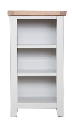 Grey & Oak - Small Bookcase/Dvd Rack