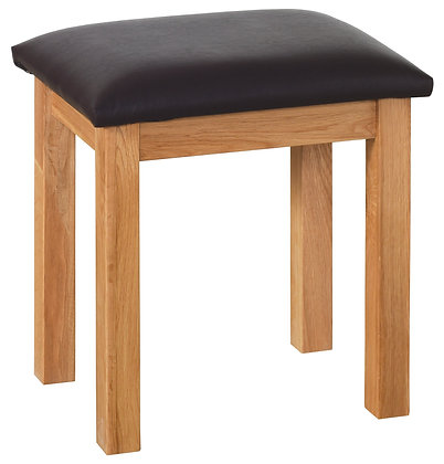Oak 1 - Dressing Table Stool