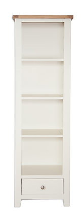 Ivory & Oak - Slim Bookcase